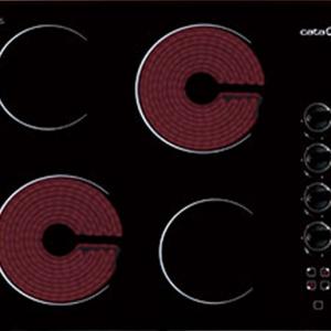 Bếp điện Cata 604 HVI S/M nút điều khiển cơ