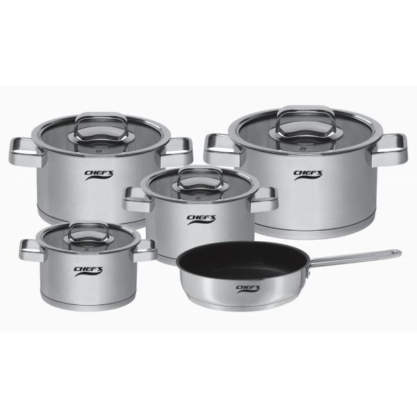 Bộ nồi 5 món Chefs EH-CW6304 giá tốt nhất thị trường