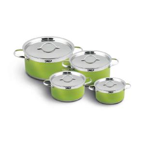Bộ nồi từ 4 chiếc inox Chefs EH-CW4304 màu xanh cốm sang trọng