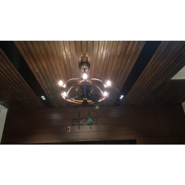 Quạt trần Monalisa thiết kế giấu cánh - mang một vẻ đẹp huyền bí