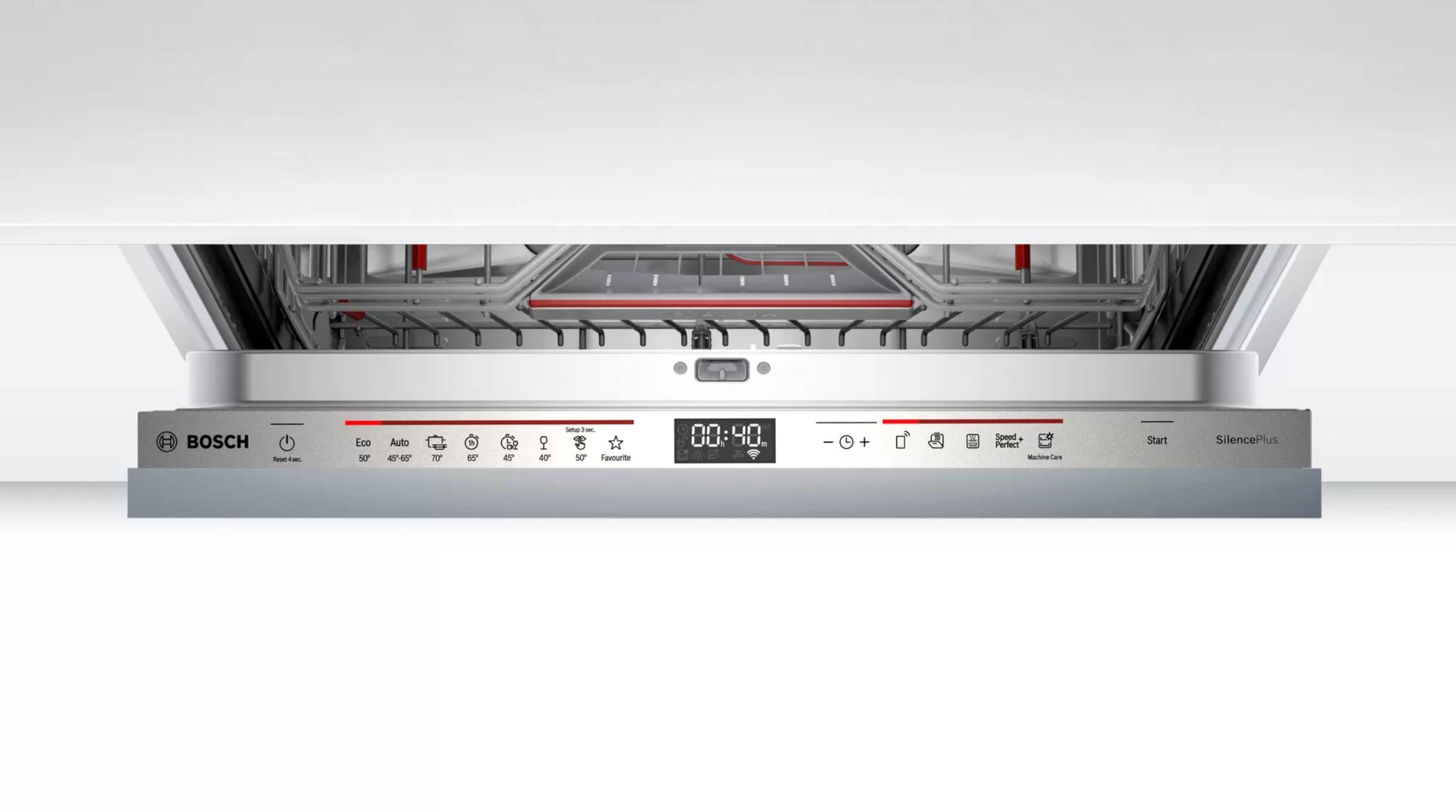 Máy rửa bát Bosch SMD6ECX57E Công nghệ trao đổi nhiệt