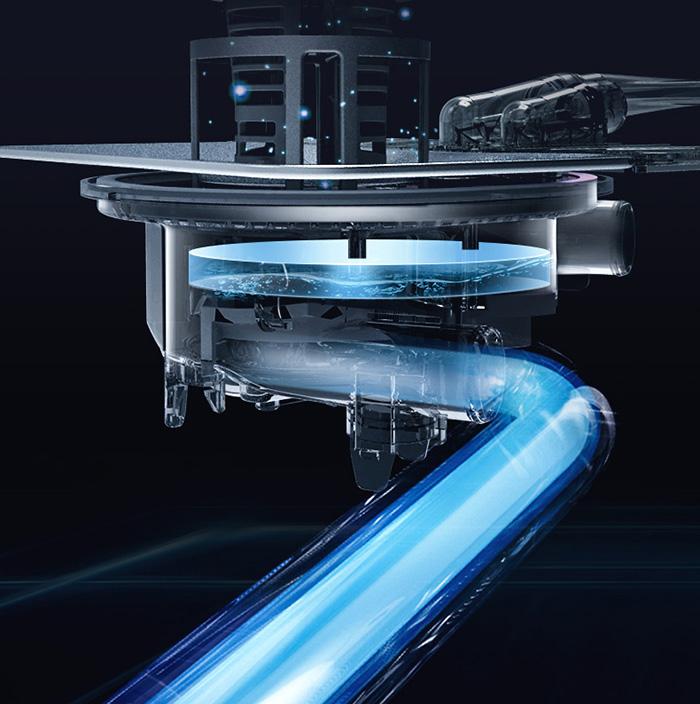 Máy rửa bát Fujishan FJVN08-S10TB Sấy khí Turbo Drying